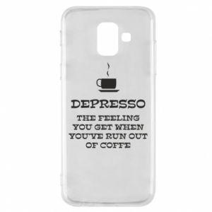 Samsung A6 2018 Case Depresso