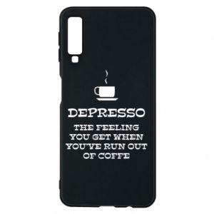Samsung A7 2018 Case Depresso
