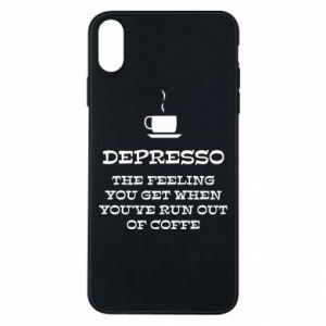 iPhone Xs Max Case Depresso