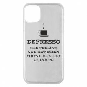iPhone 11 Pro Case Depresso