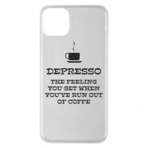 iPhone 11 Pro Max Case Depresso