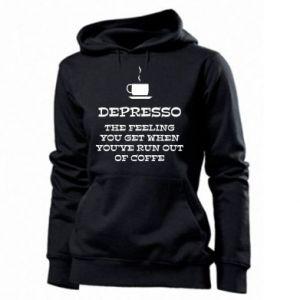 Women's hoodies Depresso