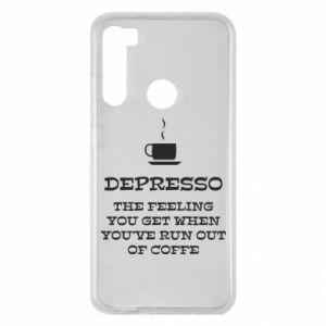 Xiaomi Redmi Note 8 Case Depresso