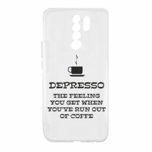 Xiaomi Redmi 9 Case Depresso