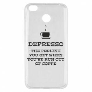 Xiaomi Redmi 4X Case Depresso