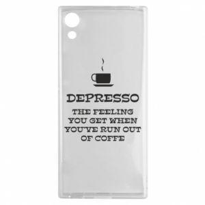 Sony Xperia XA1 Case Depresso