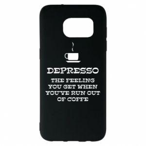 Samsung S7 EDGE Case Depresso