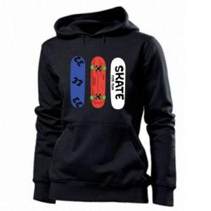 Women's hoodies Skate board