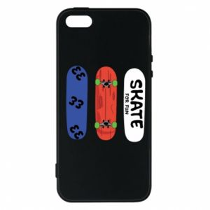 Phone case for iPhone 5/5S/SE Skate board