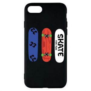 Phone case for iPhone 7 Skate board