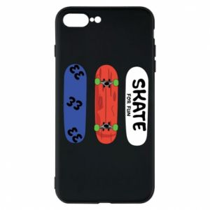 Phone case for iPhone 7 Plus Skate board