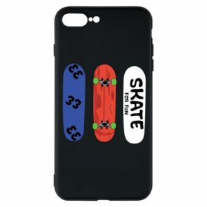 Phone case for iPhone 8 Plus Skate board