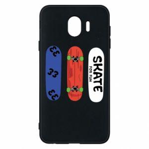 Phone case for Samsung J4 Skate board