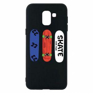 Phone case for Samsung J6 Skate board