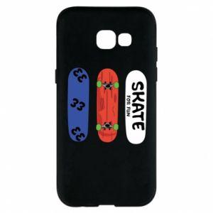 Phone case for Samsung A5 2017 Skate board