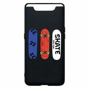 Phone case for Samsung A80 Skate board