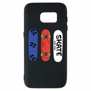 Phone case for Samsung S7 Skate board