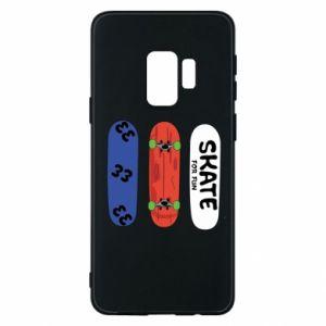 Phone case for Samsung S9 Skate board