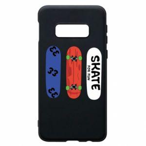 Phone case for Samsung S10e Skate board