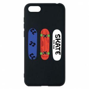 Phone case for Huawei Y5 2018 Skate board