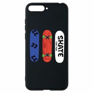 Phone case for Huawei Y6 2018 Skate board