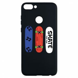 Phone case for Huawei P Smart Skate board