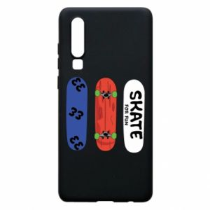 Phone case for Huawei P30 Skate board