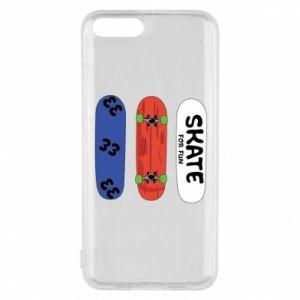 Phone case for Xiaomi Mi6 Skate board