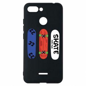 Phone case for Xiaomi Redmi 6 Skate board