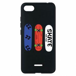 Phone case for Xiaomi Redmi 6A Skate board