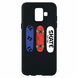 Phone case for Samsung A6 2018 Skate board