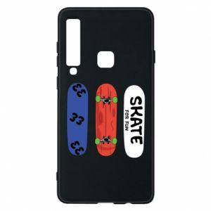 Phone case for Samsung A9 2018 Skate board