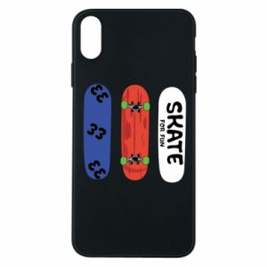 Phone case for iPhone Xs Max Skate board