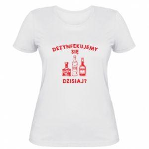 Damska koszulka Dezynfekcja