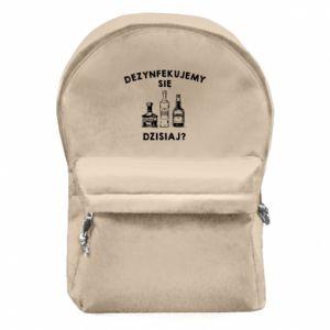 Plecak z przednią kieszenią Dezynfekcja