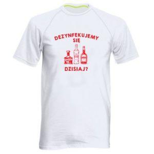 Koszulka sportowa męska Dezynfekcja