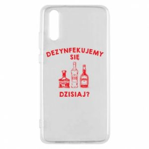 Huawei P20 Case Disinfection