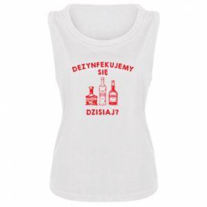 Damska koszulka bez rękawów Dezynfekcja