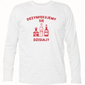 Koszulka z długim rękawem Dezynfekcja
