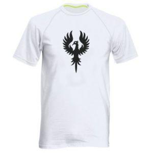 Męska koszulka sportowa Оrzeł wielkie skrzydła - PrintSalon