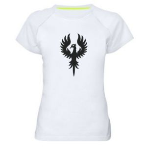 Women's sports t-shirt Еagle big wings