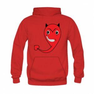Bluza z kapturem dziecięca Diabeł