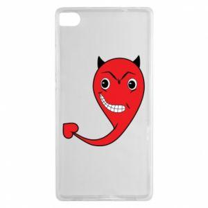 Etui na Huawei P8 Diabeł