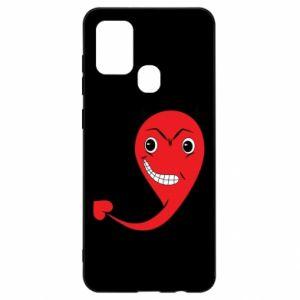 Etui na Samsung A21s Diabeł