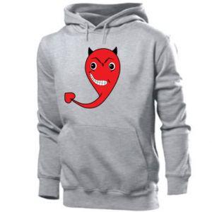 Bluza z kapturem męska Diabeł