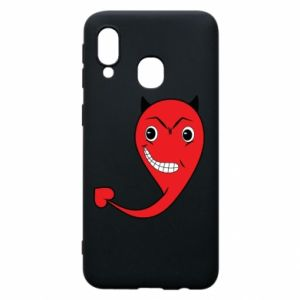 Phone case for Samsung A40 Devil