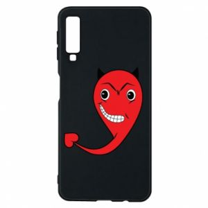 Phone case for Samsung A7 2018 Devil