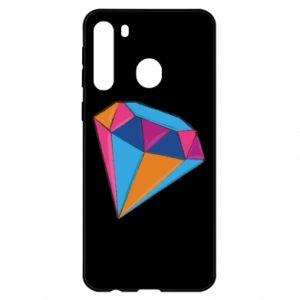 Samsung A21 Case Diamond