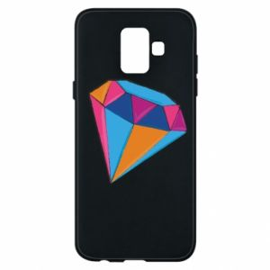 Etui na Samsung A6 2018 Diament