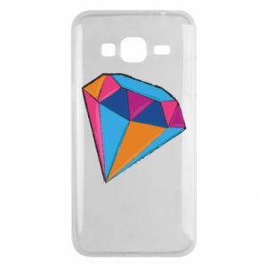 Etui na Samsung J3 2016 Diament